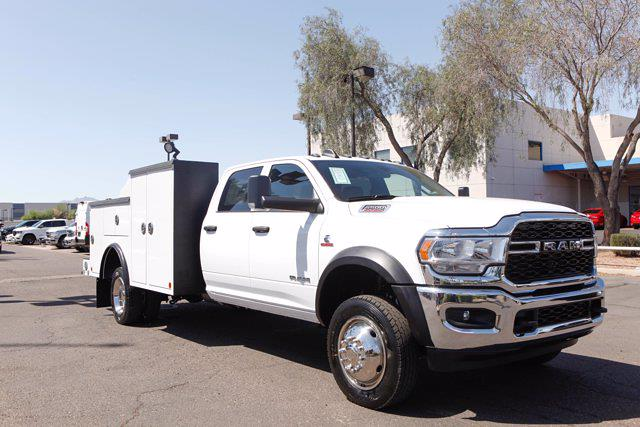 2021 Ram 5500 Crew Cab DRW 4x4, Reading Master Mechanics HD Welder Body #21P00027 - photo 5