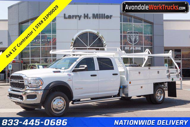 2021 Ram 4500 Crew Cab DRW 4x4, Scelzi Contractor Body #21P00029 - photo 1