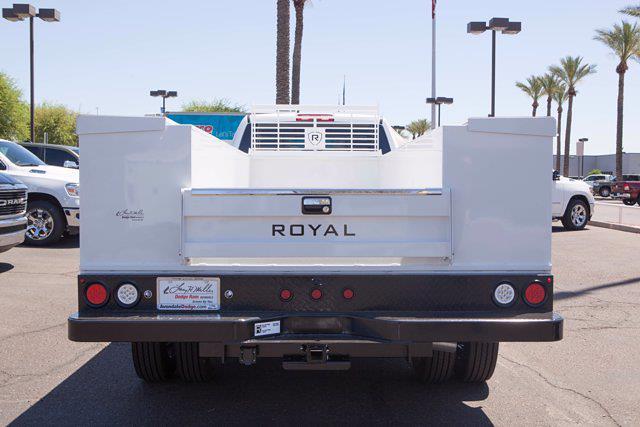 2021 Ram 5500 Crew Cab DRW 4x2, Royal Truck Body Service Body #21P00040 - photo 4