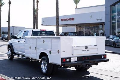 2021 Ram 5500 Crew Cab DRW 4x4, Royal Truck Body Service Body #21P00075 - photo 3