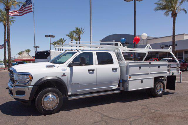 2021 Ram 5500 Crew Cab DRW 4x4, Scelzi CTFB Contractor Body #21P00079 - photo 3