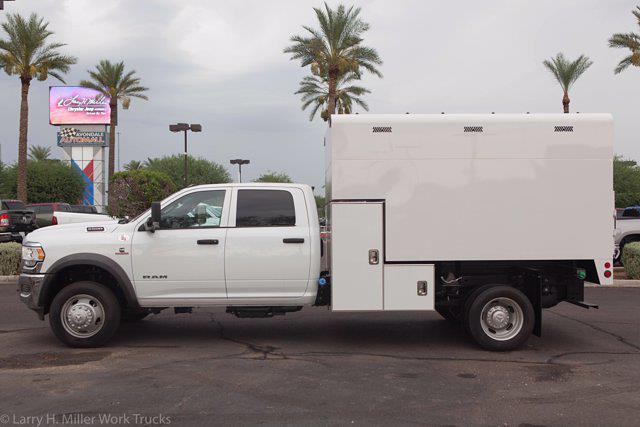 2021 Ram 5500 Crew Cab DRW 4x2,  Arbortech Chipper Body #21P00114 - photo 4