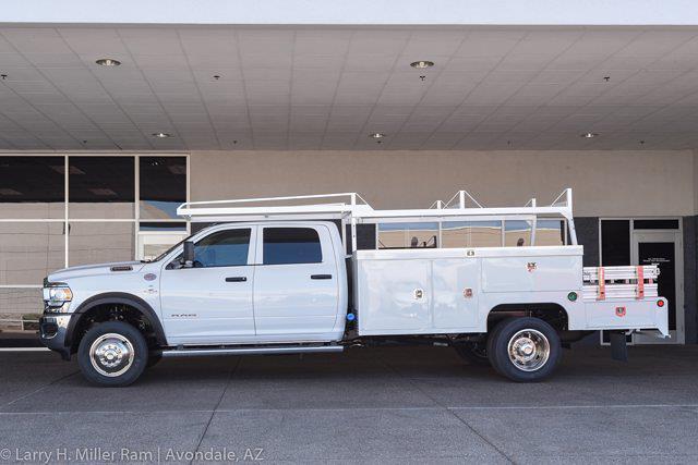 2021 Ram 5500 Crew Cab DRW 4x2,  Scelzi SEC Combo Body #21P00123 - photo 4