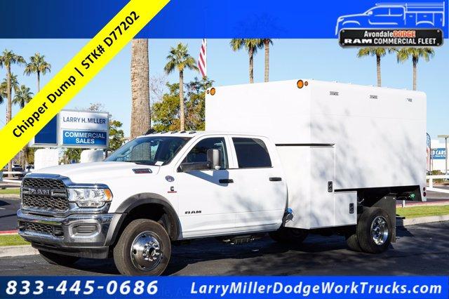 2020 Ram 5500 Crew Cab DRW 4x4, Arbortech Chipper Body  #20P00049 - photo 1