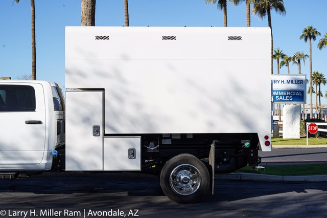 2020 Ram 5500 Crew Cab DRW 4x4, Arbortech Chipper Body  #20P00049 - photo 8