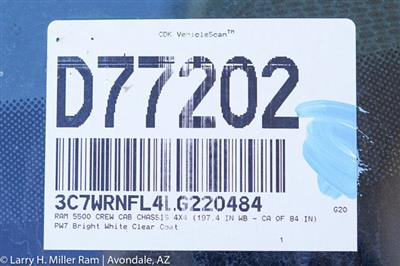 2020 Ram 5500 Crew Cab DRW 4x4, Arbortech Chipper Body  #20P00049 - photo 31