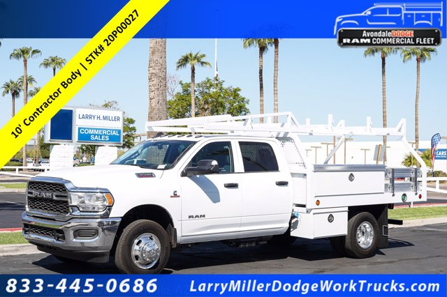 2020 Ram 3500 Crew Cab DRW 4x4, Royal Contractor Body #20P00027 - photo 1