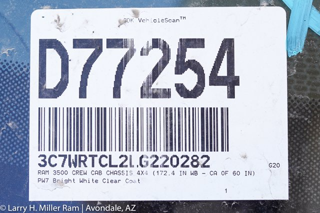 2020 Ram 3500 Crew Cab DRW 4x4, Royal Contractor Body #20P00027 - photo 32