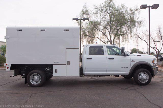 2021 Ram 5500 Crew Cab DRW 4x2, Arbortech Chipper Body #21P00006 - photo 12