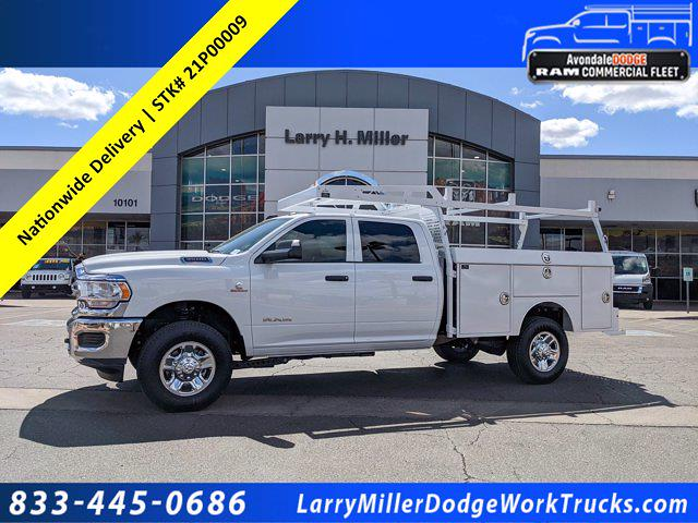2021 Ram 3500 Crew Cab 4x4, Milron Service Body #21P00009 - photo 1