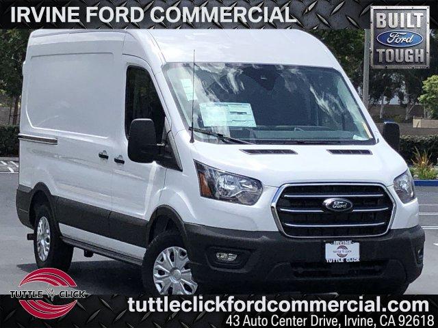 2020 Ford Transit 150 Med Roof RWD, Harbor Upfitted Cargo Van #FC401064 - photo 1