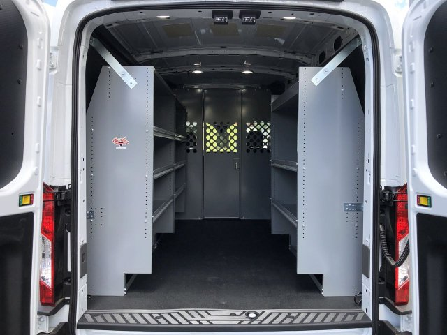 2020 Ford Transit 150 Med Roof RWD, Harbor Upfitted Cargo Van #FC401064 - photo 1