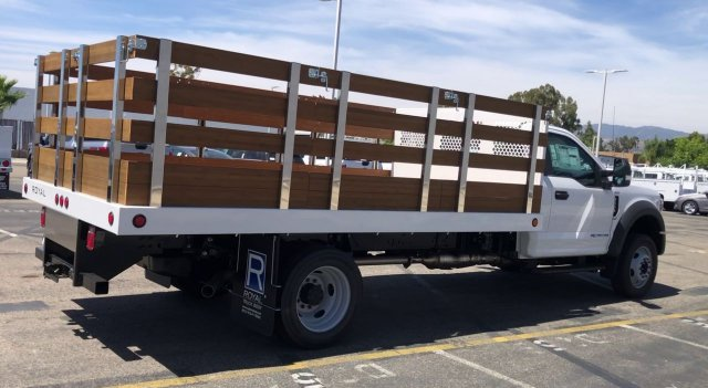 2020 Ford F-550 Regular Cab DRW 4x2, Royal Stake Bed #FC401087 - photo 1