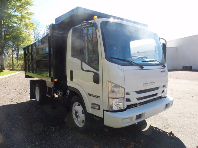 2020 Isuzu NPR-HD Regular Cab 4x2, Landscape Dump #Z00008 - photo 4