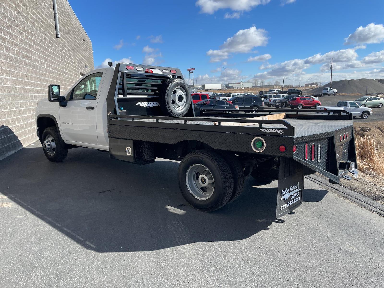 2021 Chevrolet Silverado 3500 Regular Cab AWD, Hillsboro Platform Body #143869 - photo 1