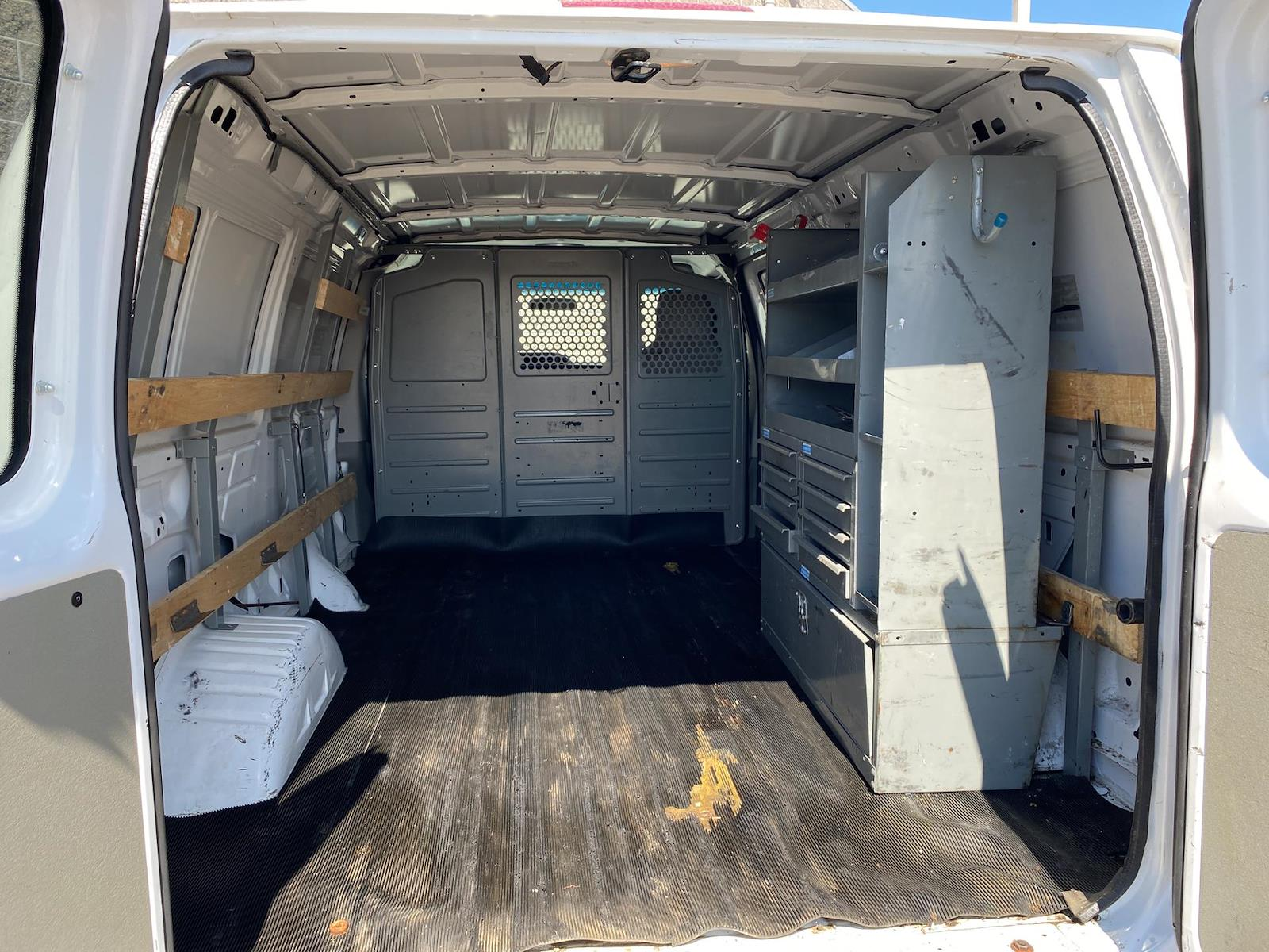 2012 Ford E-250 4x2, Upfitted Cargo Van #191078A - photo 1