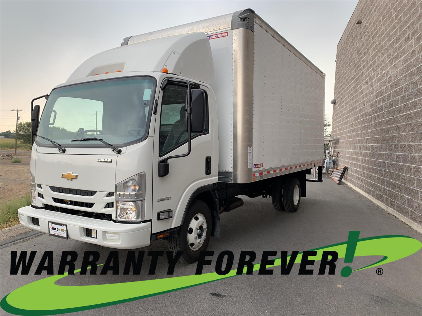 2020 Chevrolet LCF 3500 Regular Cab RWD, Morgan Dry Freight #803706 - photo 1