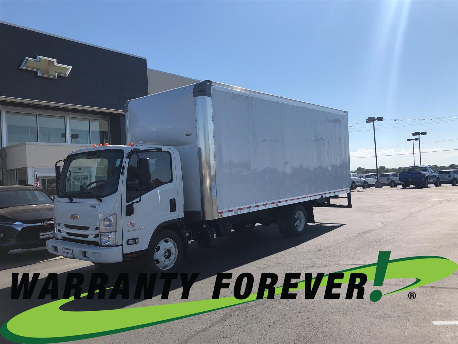 2020 Chevrolet LCF 5500HD Regular Cab RWD, Morgan Dry Freight #900927 - photo 1
