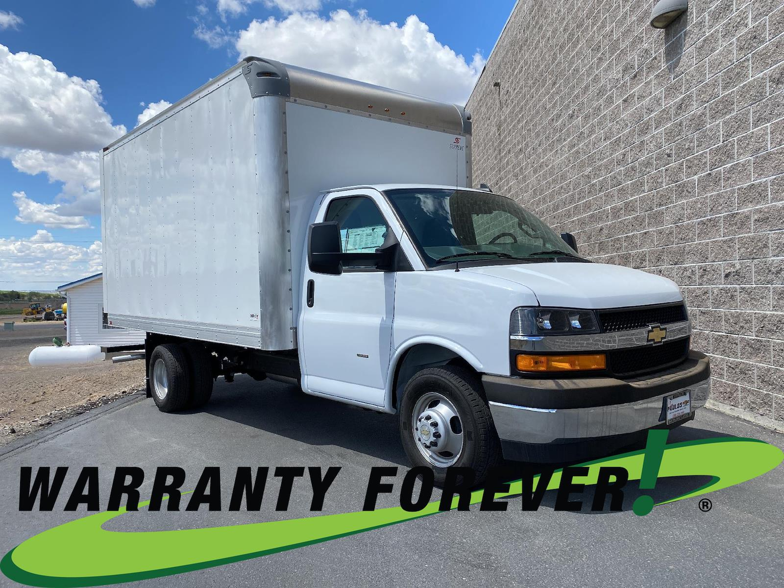 2021 Chevrolet Express 3500 4x2, Supreme Dry Freight #N001656 - photo 1