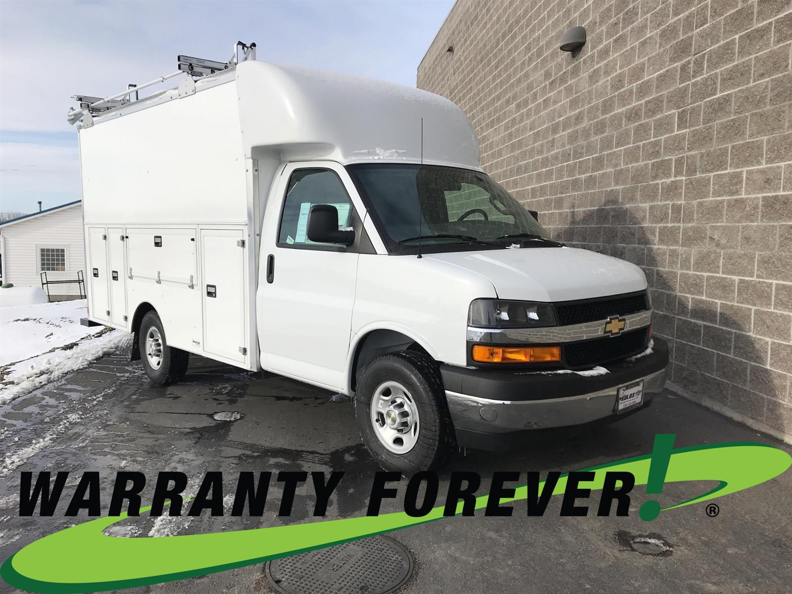 2020 Chevrolet Express 3500 4x2, Supreme Service Utility Van #N013939 - photo 1
