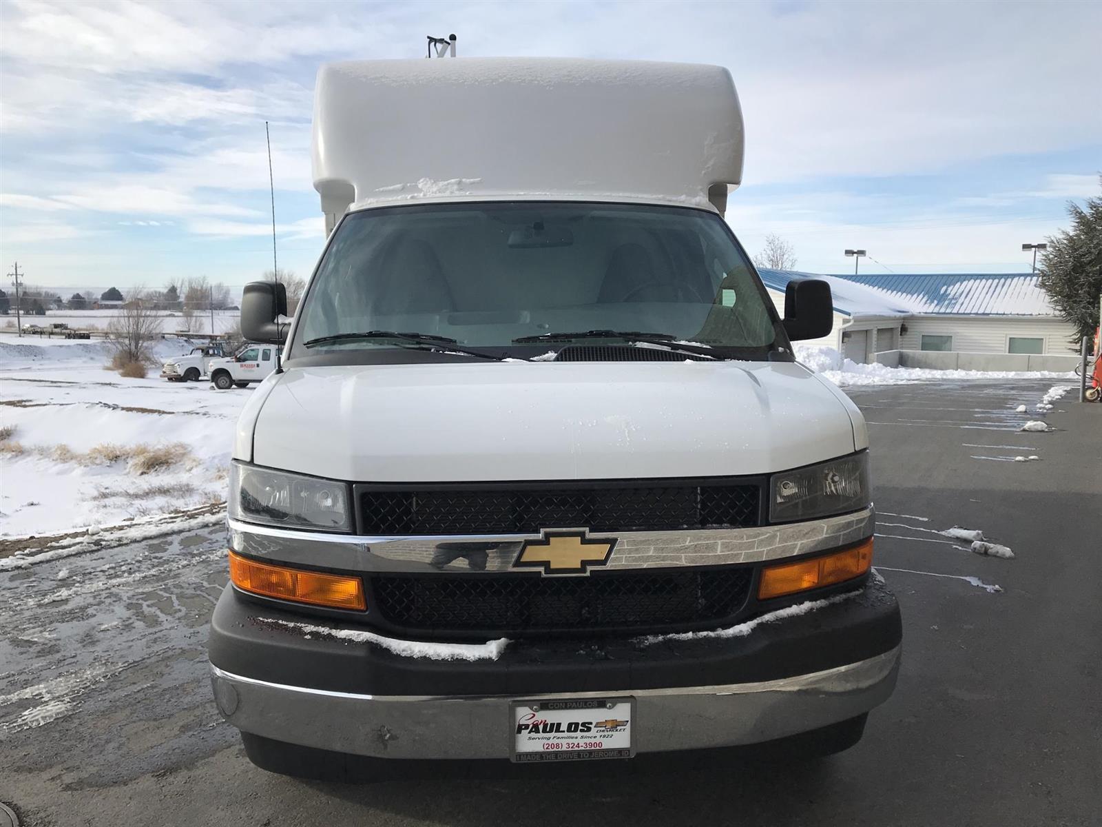 2020 Chevrolet Express 3500 4x2, Supreme Spartan Service Utility Van #N013939 - photo 3