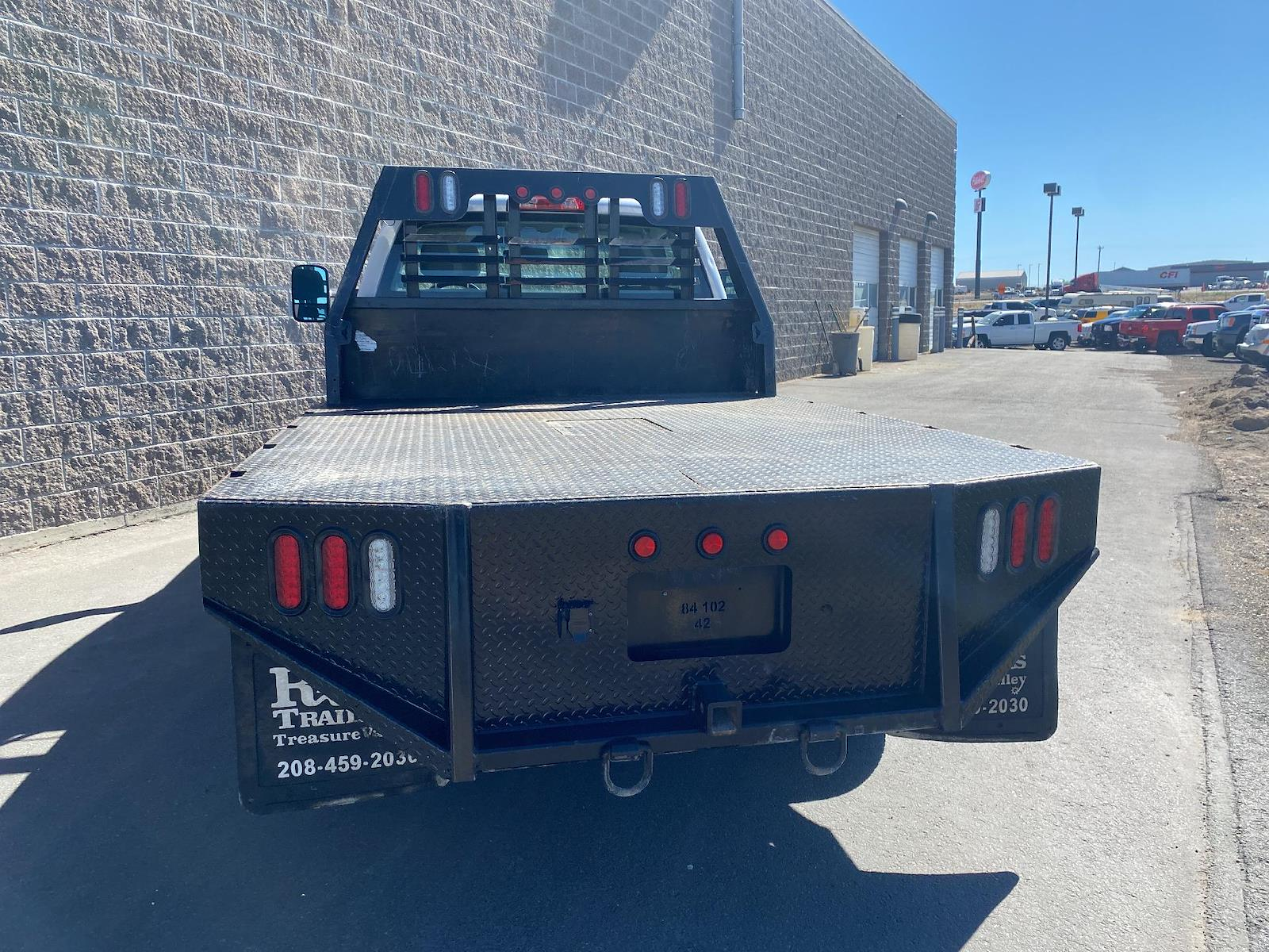 2018 Chevrolet Silverado 2500 Regular Cab 4x4, Platform Body #U6034 - photo 1