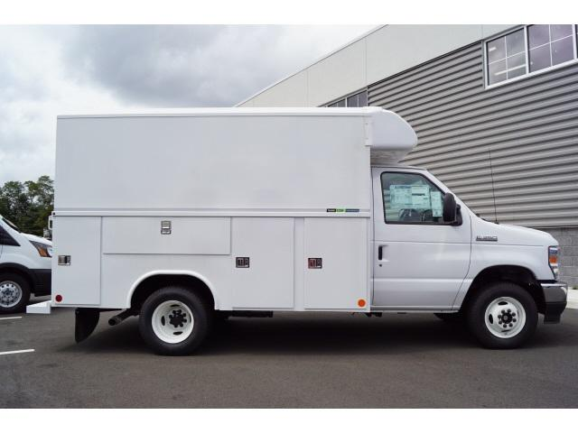 2021 Ford E-350 DRW 4x2, HIGH ROOF ENCLOSED UTILITY #MDC04216 - photo 1