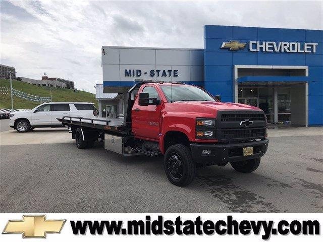 2020 Chevrolet Silverado Medium Duty Regular Cab DRW 4x4, Jerr-Dan Rollback Body #50031661 - photo 1