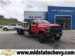 2020 Chevrolet Silverado Medium Duty Regular Cab DRW 4x4, Jerr-Dan Standard Duty Carriers Rollback Body #50031661 - photo 1