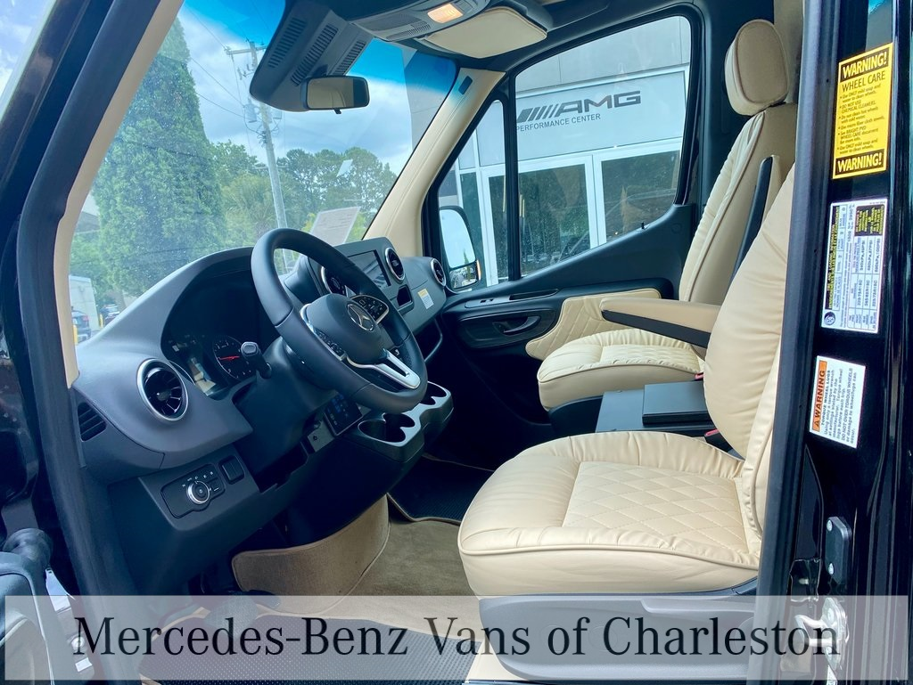2019 Mercedes-Benz Sprinter 3500 High Roof 4x2, Midwest Automotive Designs Professional Series Limo Other/Specialty #MB10155 - photo 23
