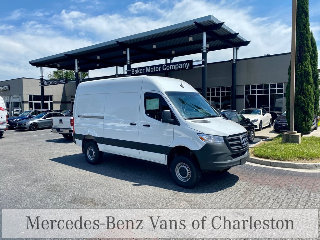 2020 Mercedes-Benz Sprinter 2500 4x4, Empty Cargo Van #MB10408 - photo 5