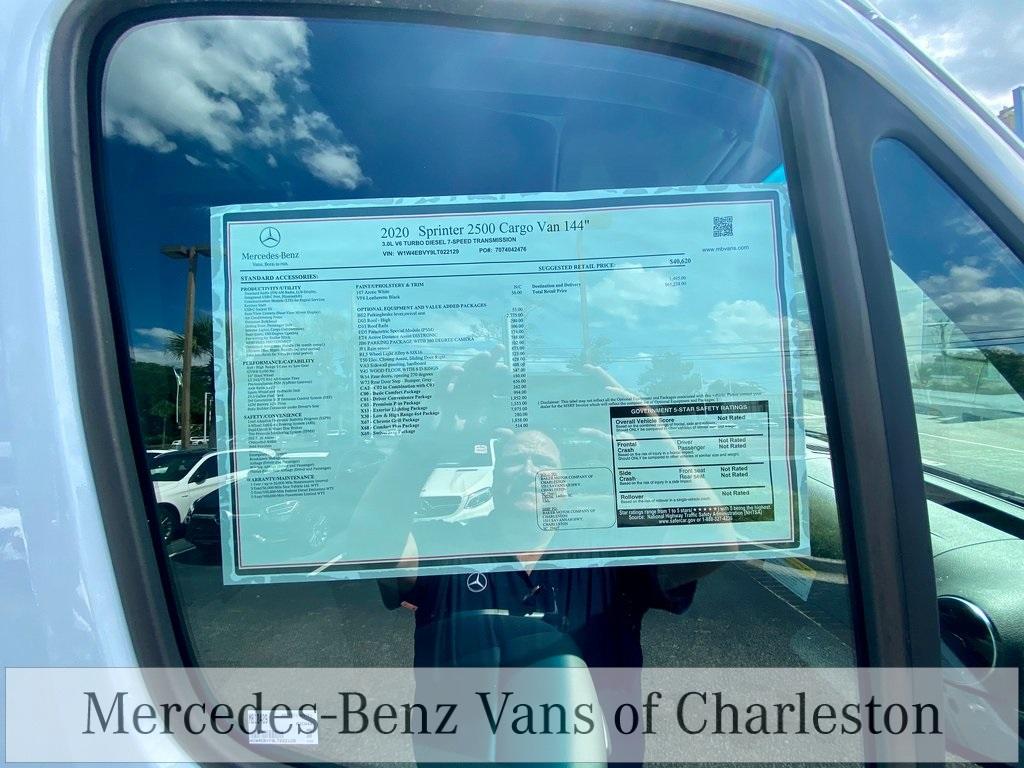 2020 Mercedes-Benz Sprinter 2500 4x4, Empty Cargo Van #MB10409 - photo 17
