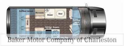 2020 Mercedes-Benz Sprinter 2500 4x4, Empty Cargo Van #MB10409 - photo 3
