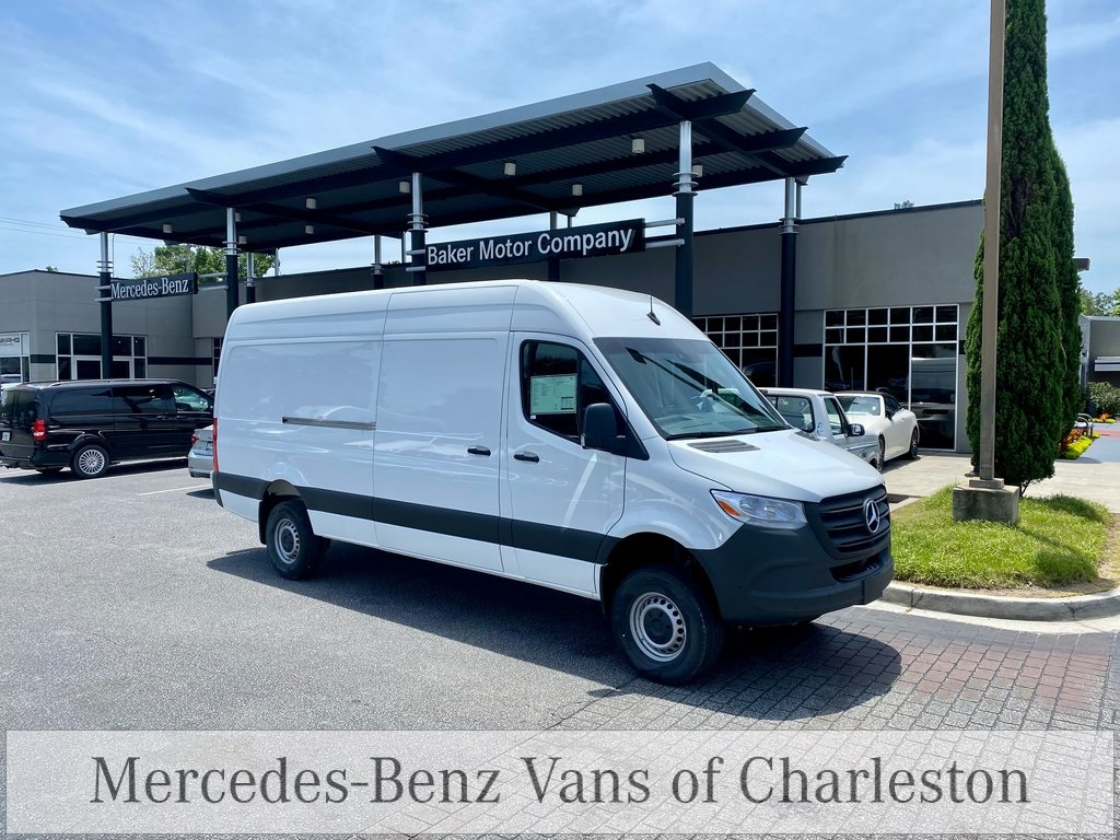 2020 Mercedes-Benz Sprinter 2500 4x4, Empty Cargo Van #MB10415 - photo 3