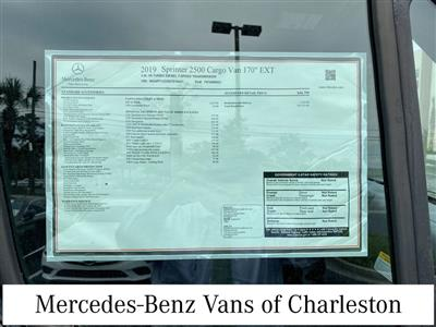 2019 Mercedes-Benz Sprinter 2500 4x2, Empty Cargo Van #MB9941 - photo 12