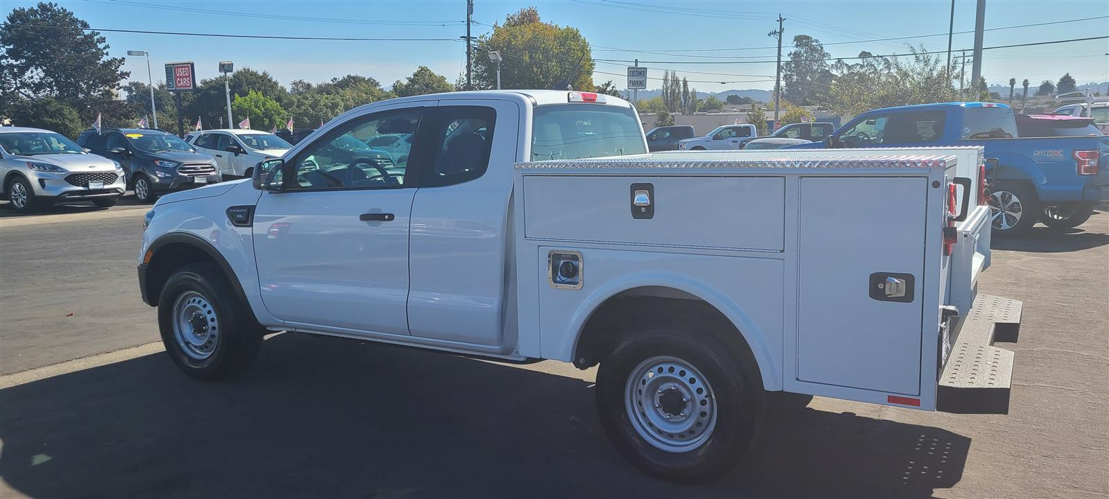 2020 Ford Ranger Super Cab 4x2, ALUMINUM LOW PROFILE SERVICE BODY #wf1027 - photo 1