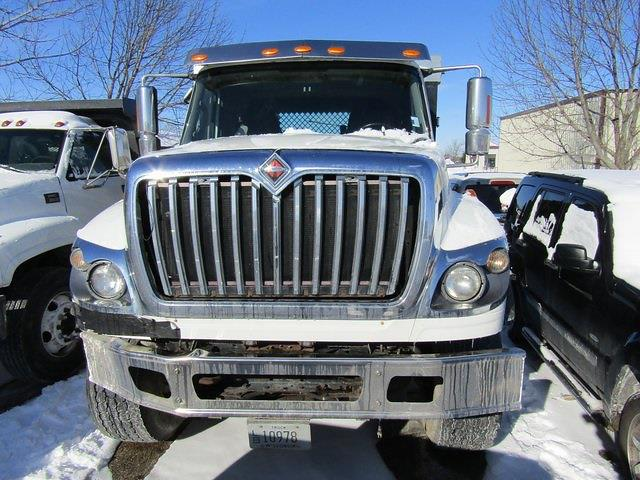 2013 International WorkStar 7500 DRW 4x2, 22' FLAT BED DUMP WITH WOOD SIDES #J190002A1 - photo 1