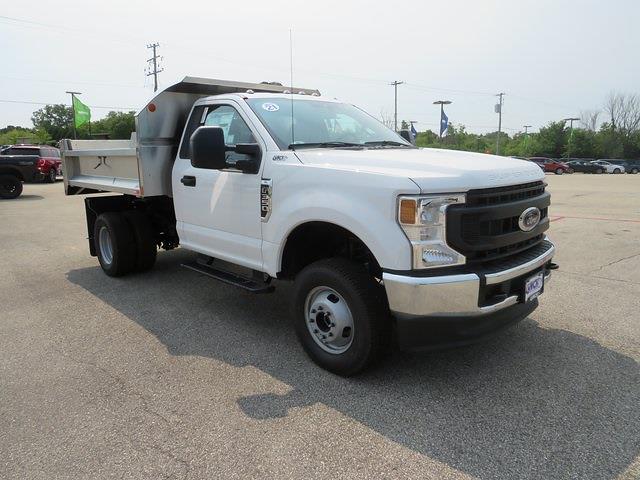 2021 F-350 Regular Cab DRW 4x4,  Monroe Truck Equipment MTE-Zee SST Series Dump Body #J210250 - photo 3