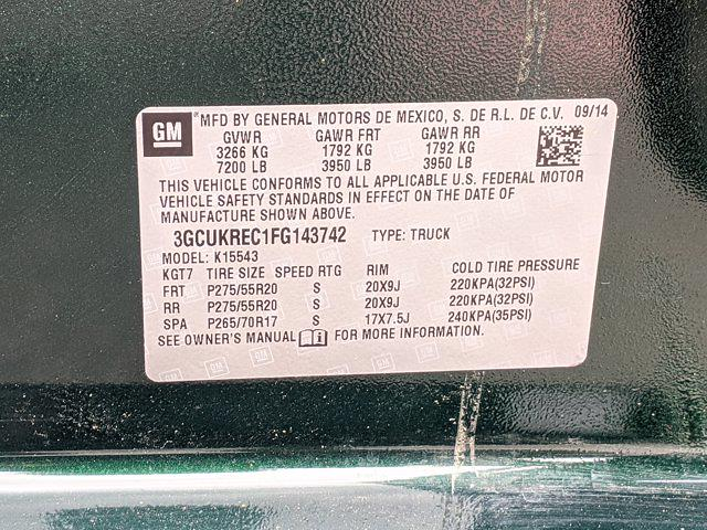 2015 Chevrolet Silverado 1500 Crew Cab 4x4, Pickup #FG143742 - photo 23