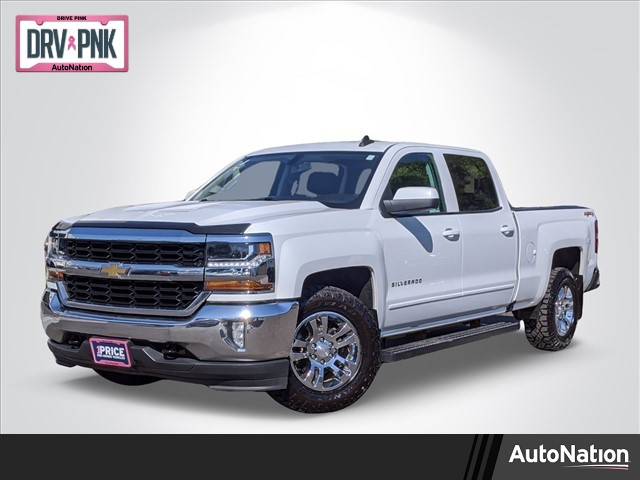 2018 Chevrolet Silverado 1500 Crew Cab 4x4, Pickup #JF233338 - photo 1
