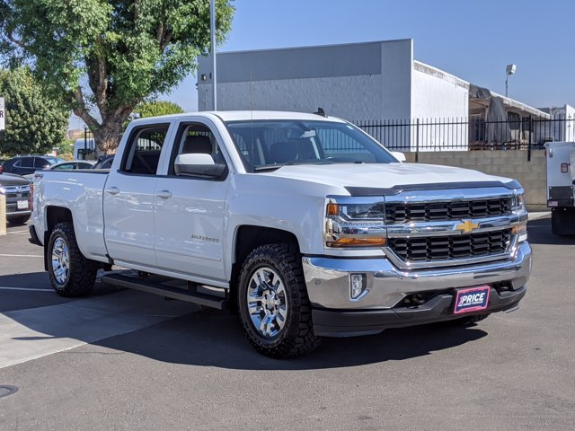 2018 Chevrolet Silverado 1500 Crew Cab 4x4, Pickup #JF233338 - photo 4