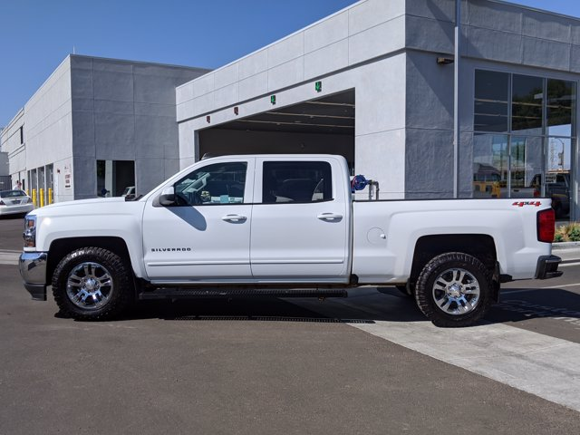 2018 Chevrolet Silverado 1500 Crew Cab 4x4, Pickup #JF233338 - photo 8