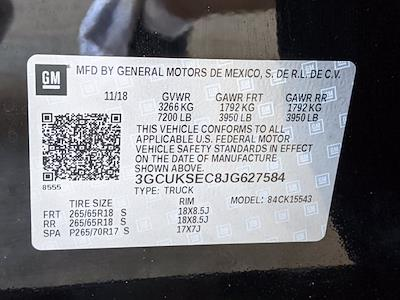 2018 Chevrolet Silverado 1500 Crew Cab 4x4, Pickup #JG627584 - photo 26