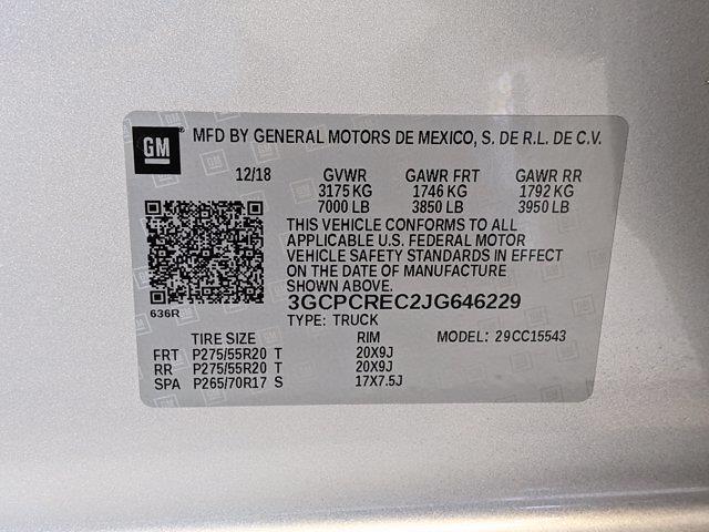 2018 Chevrolet Silverado 1500 Crew Cab 4x2, Pickup #JG646229 - photo 27