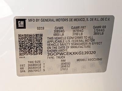 2019 Silverado 1500 Crew Cab 4x2,  Pickup #KG139320 - photo 25