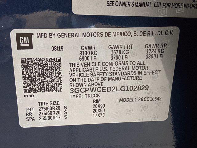 2020 Chevrolet Silverado 1500 Crew Cab 4x2, Pickup #LG102829 - photo 27
