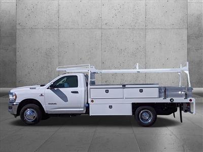2020 Ram 3500 Regular Cab DRW 4x2, Scelzi CTFB Contractor Body #LG110176 - photo 6