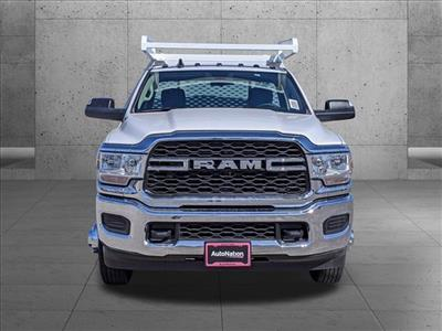 2020 Ram 3500 Regular Cab DRW 4x2, Scelzi CTFB Contractor Body #LG110176 - photo 7