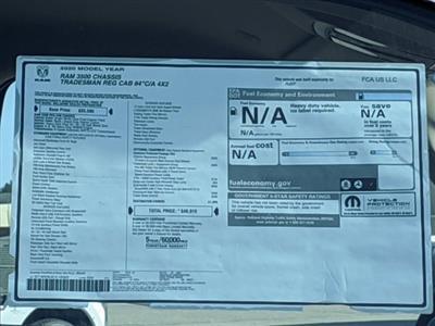2020 Ram 3500 Regular Cab DRW 4x2, Scelzi CTFB Contractor Body #LG145003 - photo 18