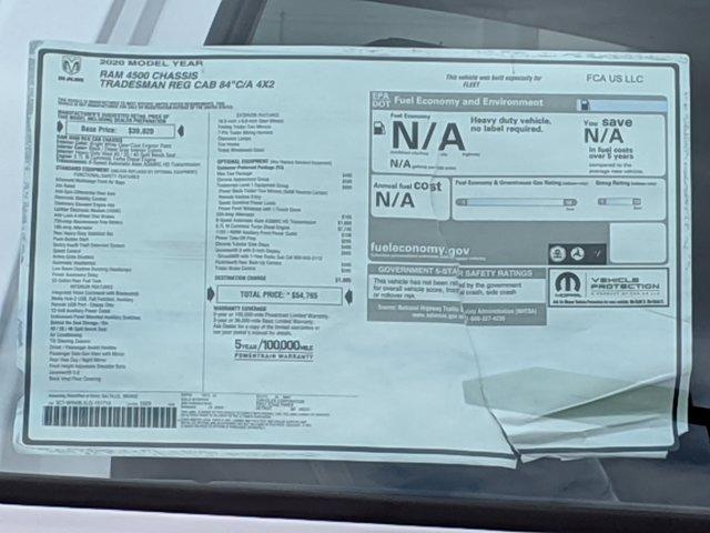 2020 Ram 4500 Regular Cab DRW 4x2, Scelzi Signature Service Body #LG151714 - photo 17